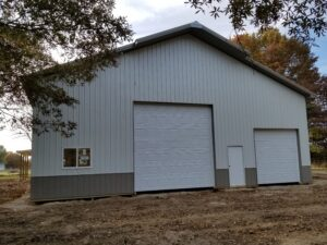 Amish pole barns